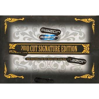 2010 Razor Cut Signature Edition Hobby Box