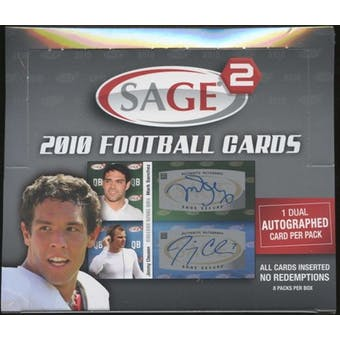 2010 Sage Squared Football Hobby Box