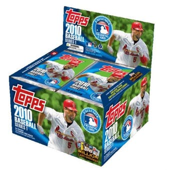2010 Topps Series 1 Baseball 24-Pack Box