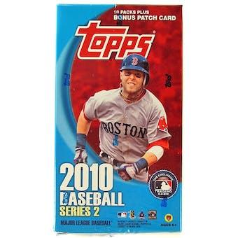 2010 Topps Series 2 Baseball 10-Pack Box