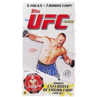 2010 Topps UFC 5-Pack Box