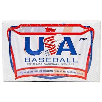 2010 Topps USA Baseball Team Retail Factory Set (Box)