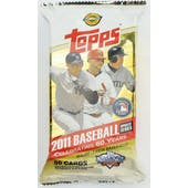 2011 Topps Updates & Highlights Baseball Jumbo Pack