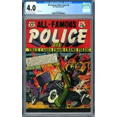 All-Famous Police Cases #6 CGC 4.0 (OW-W) *2011432013*