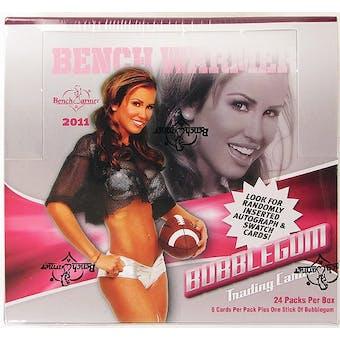 BenchWarmer Bubblegum Trading Cards Box (2011)