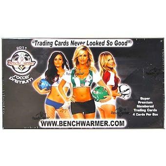 BenchWarmer Soccer Premium Trading Cards Box (2012)
