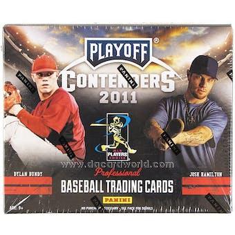 2011 Panini Contenders Baseball Hobby Box