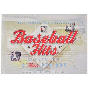 2011 ITG Heroes & Prospects Hits Series 1 Baseball Hobby Box