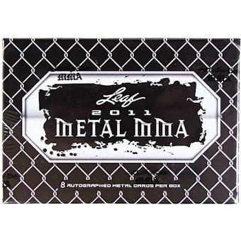 2011 Leaf Metal MMA Hobby Box