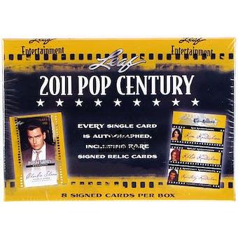 2011 Leaf Pop Century Hobby Box