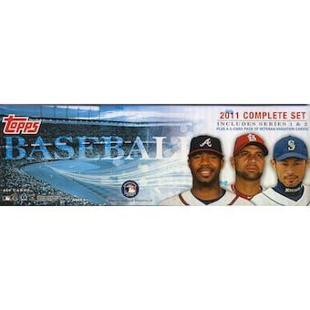 2011 Topps Factory Set Baseball Retail (Box)
