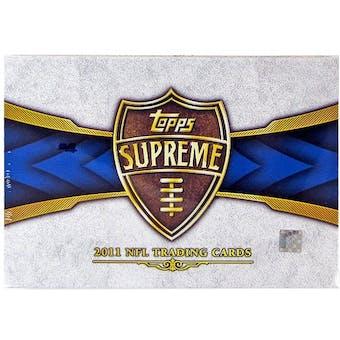 2011 Topps Supreme Football Hobby Box
