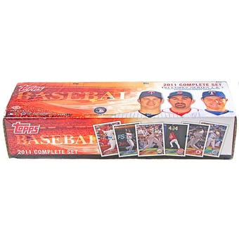 2011 Topps Factory Set Baseball Hobby (Box)