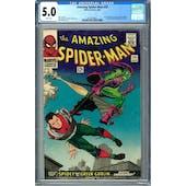 Amazing Spider-Man #39 CGC 5.0 (W) *2012524002*