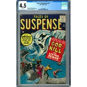 Tales of Suspense #12 CGC 4.5 (W) *2012524006*