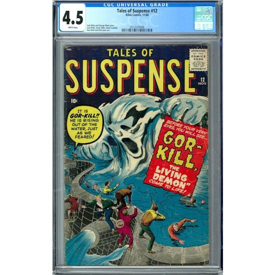 Tales of Suspense #12 CGC 4.5 (W) *2012524006*