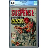 Tales of Suspense #14 CGC 4.0 (W) *2012524007*