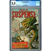 Tales of Suspense #19 CGC 3.5 (W) *2012524008*