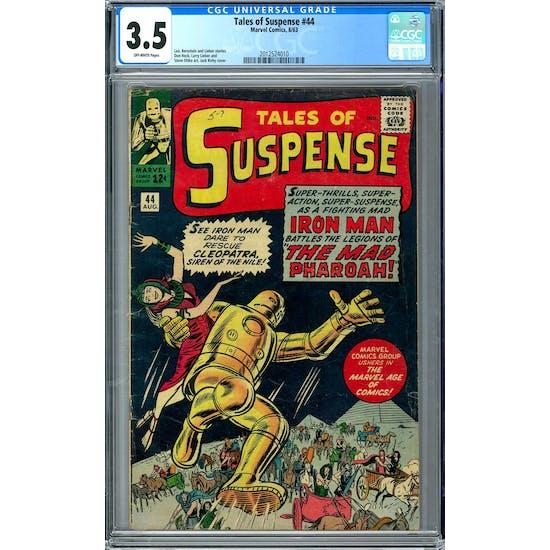 Tales of Suspense #44 CGC 3.5 (OW) *2012524010*