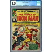 Tales of Suspense #58 CGC 3.5 (OW-W) *2012524013*