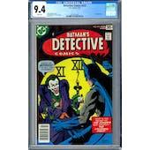 Detective Comics #475 CGC 9.4 (W) *2012615004*