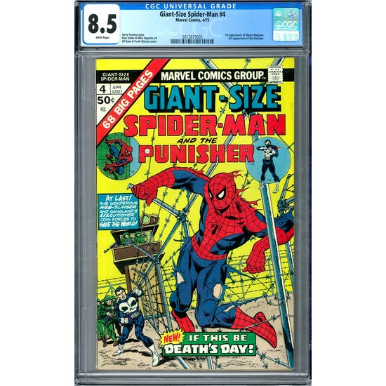 Giant-Size Spider-Man #4 CGC 8.5 (W) *2012615005*