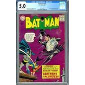 Batman #169 CGC 5.0 (OW-W) *2012616002*