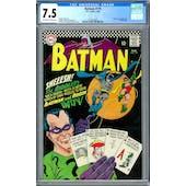 Batman #179 CGC 7.5 (OW-W) *2012616003*