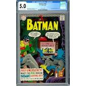 Batman #183 CGC 5.0 (OW-W) *2012616004*