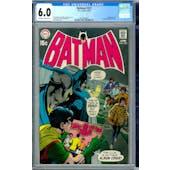 Batman #222 CGC 6.0 (OW-W) *2012616005*