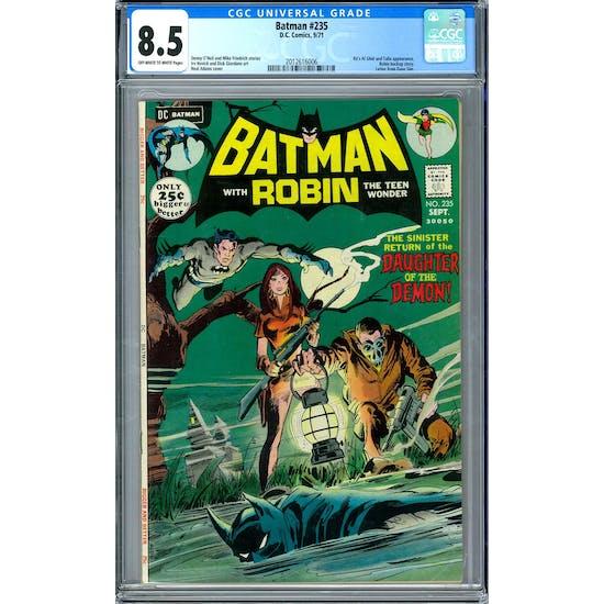 Batman #235 CGC 8.5 (OW-W) *2012616006*