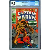 Captain Marvel #18 CGC 9.2 (W) *2012616009*