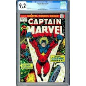 Captain Marvel #29 CGC 9.2 (W) *2012616011*