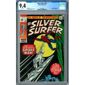 Silver Surfer #14 CGC 9.4 (W) *2012857002*
