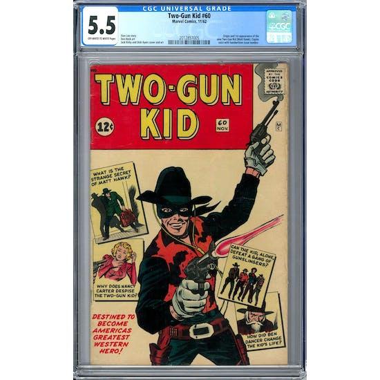 Two-Gun Kid #60 CGC 5.5 (OW-W) *2012857005*