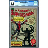 Amazing Spider-Man #3 CGC 2.5 (C-OW) *2012887007*