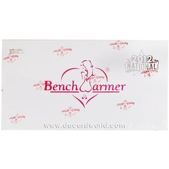 BenchWarmer National Edition Trading Cards Box (2012)