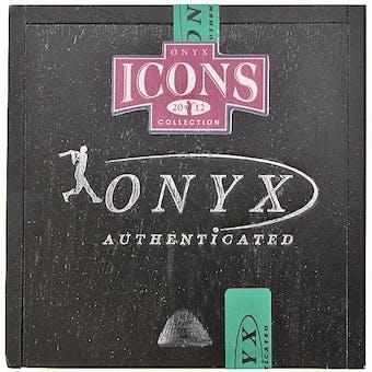 2012 Onyx Icons Baseball Hobby Box