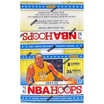 2011/12 Panini NBA Hoops Basketball Hobby Box