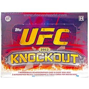 2012 Topps UFC Knockout Hobby Box