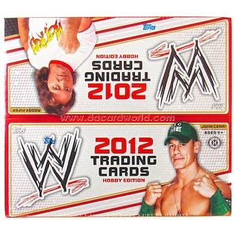 2012 Topps WWE Wrestling Hobby Box