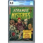 Strange Mysteries #10 CGC 8.0 (OW-W) *2013553002*