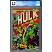 Incredible Hulk #181 CGC 6.5 (OW-W) *2013689004*