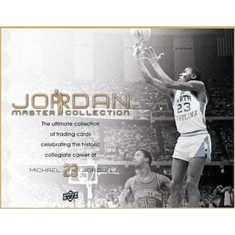 2013 Upper Deck Michael Jordan Master Collection Basketball Hobby Box (Set)