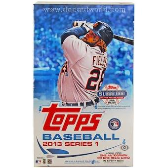 2013 Topps Series 1 Baseball Hobby Box