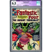 Fantastic Four #24 CGC 6.5 (OW) Restored Slight B-1 *2014214011*