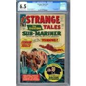 Strange Tales #125 CGC 6.5 (OW-W) *2014499014*