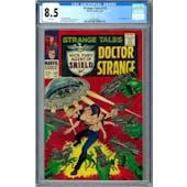 Strange Tales #153 CGC 8.5 (W) *2014500007*