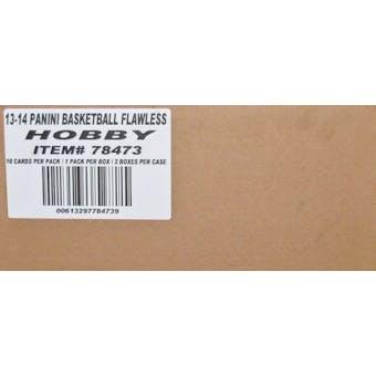 2013/14 Panini Flawless Basketball Hobby 2-Box Case