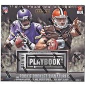 2014 Panini Playbook Football Hobby Box